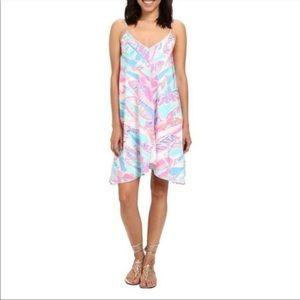 Lilly Pulitzer Clara Silk Swing Dress XS